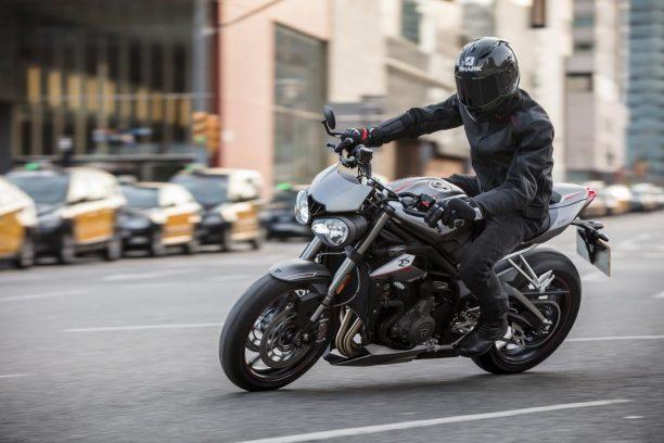 Triumph Street Triple RS Ride to work week FCAI initiative