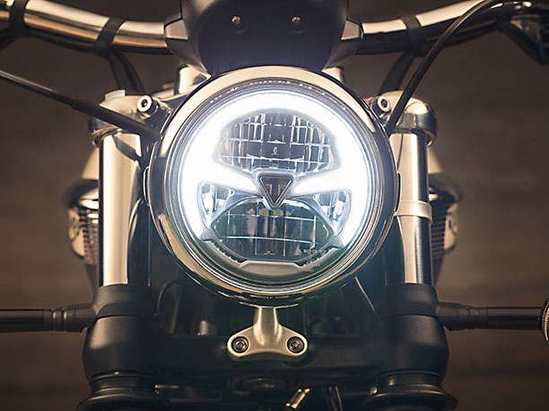 Triumph speedmaster daytime running light