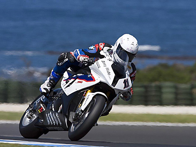 Troy Corser BMW S1000RR Phillip Island