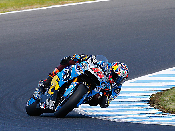 jack miller racing at phillip island motogp 2017