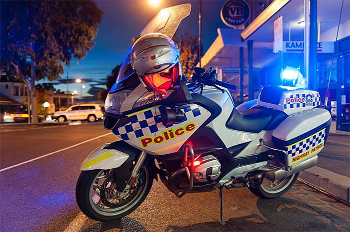 Victorian police motorcycle safety operation motosafe