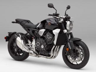 2018 Honda CB1000R unveiled front three quarter static studio