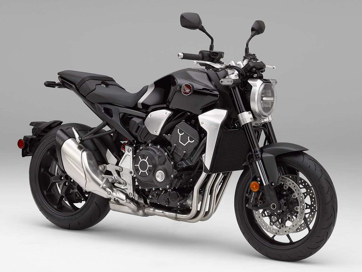 2018 Honda CB1000R unveiled front three quarter static studio