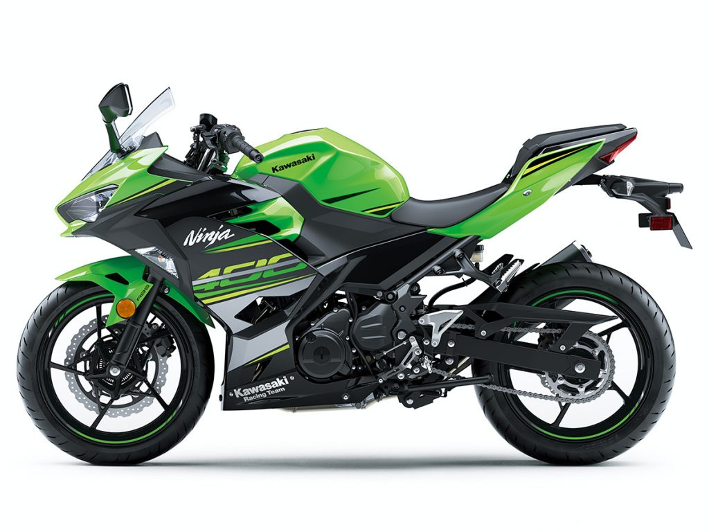 Kawasaki ninja 400 Race Team: KRT Lime Green/Ebony