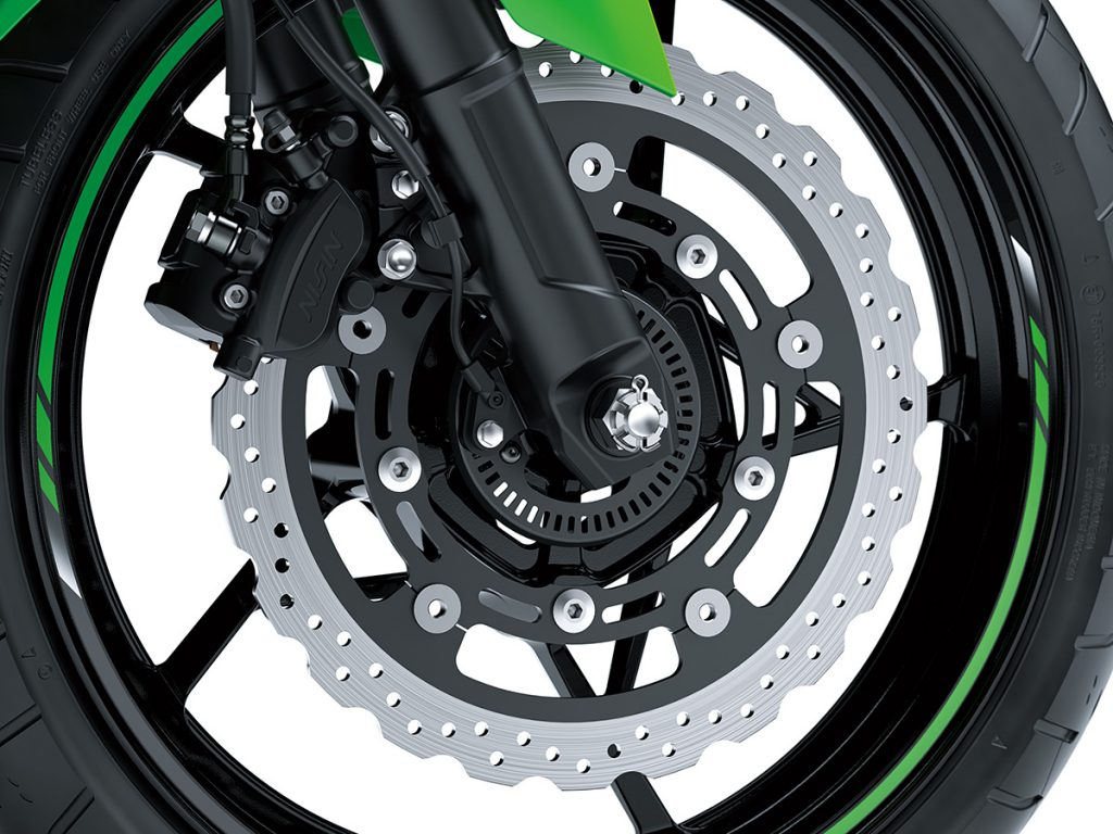 Kawasaki ninja 400 detail front brake