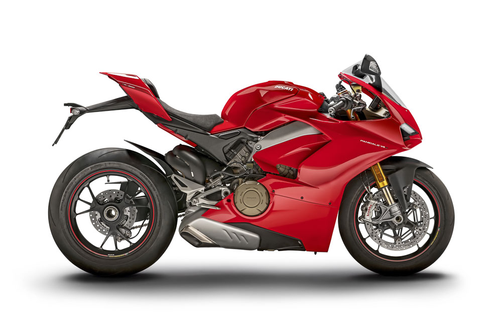 Ducati Panigale V4 side on r