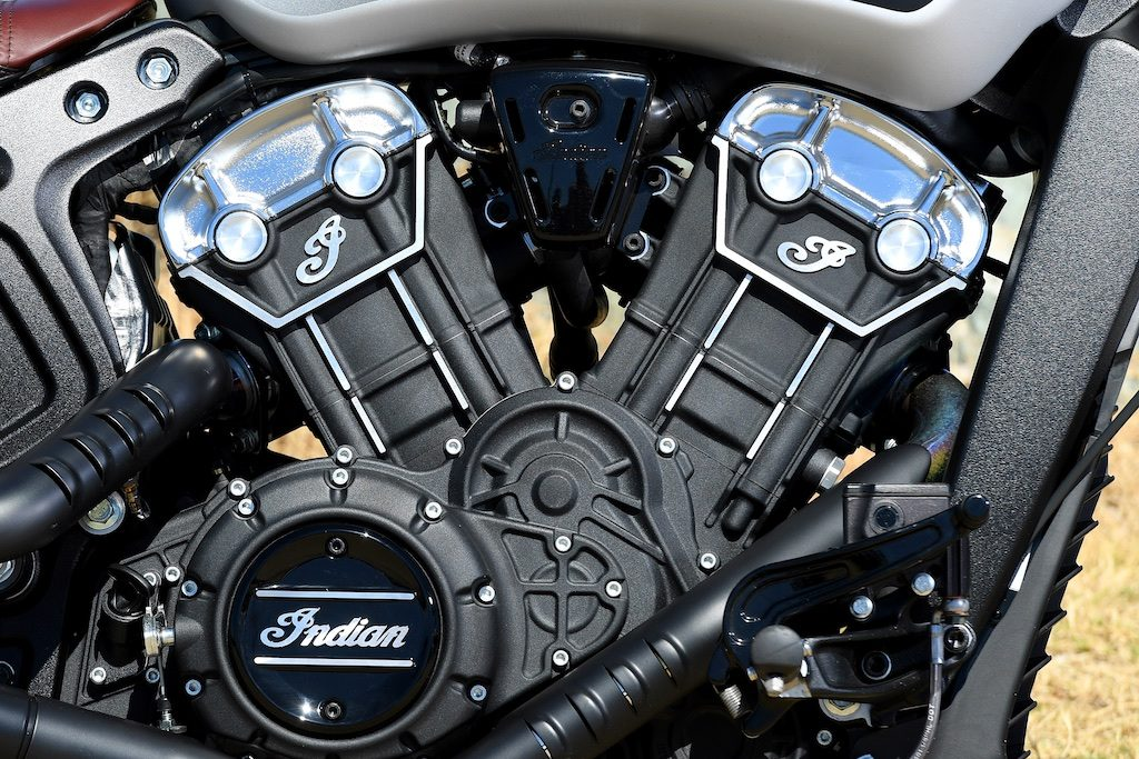 Indian scout bobber engine