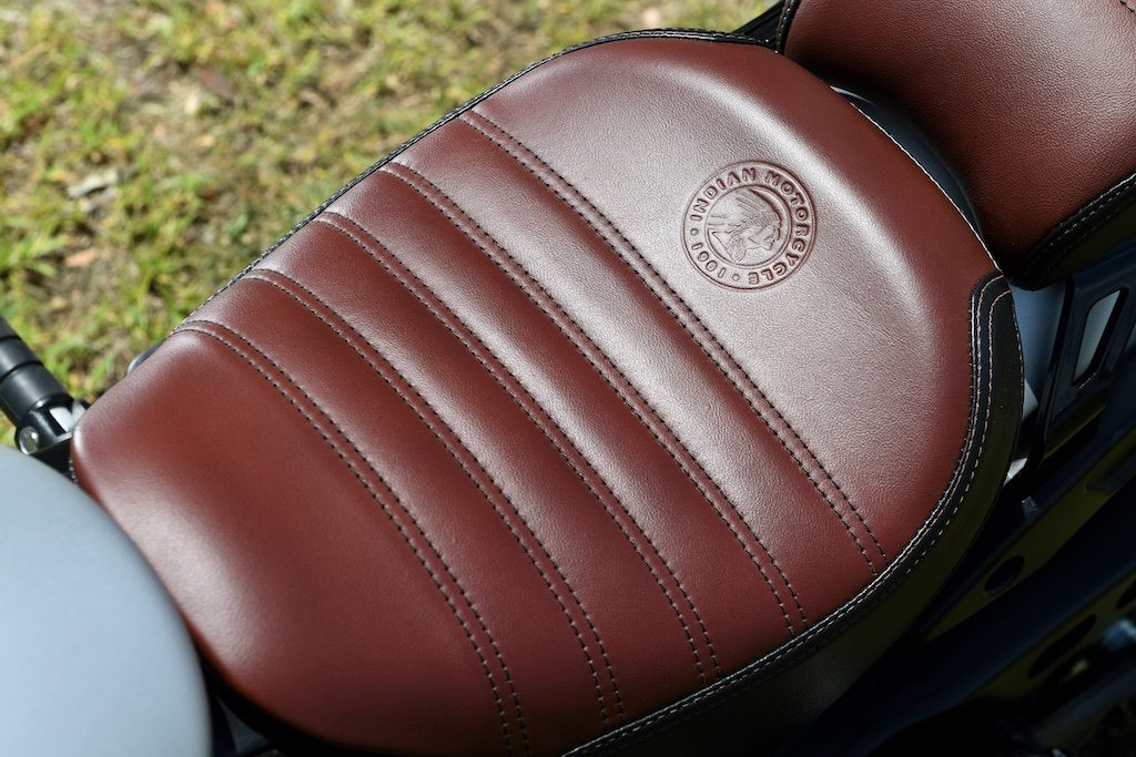 Indian Scout Bobber seat