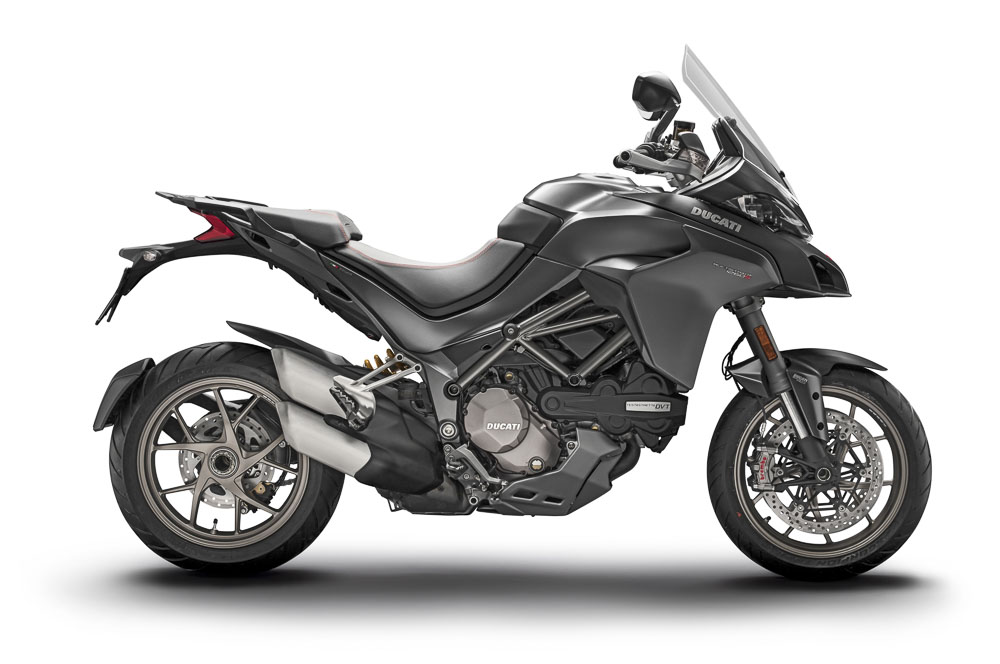 2018 Ducati Multistrada 1260 S side on right