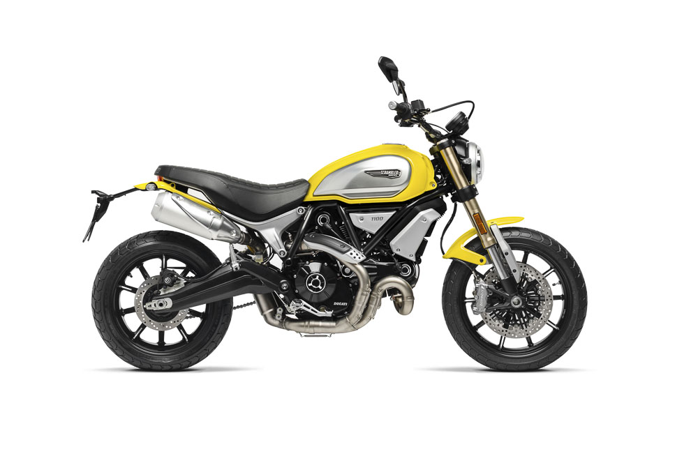 2018 Ducati Scrambler 1100 side on right