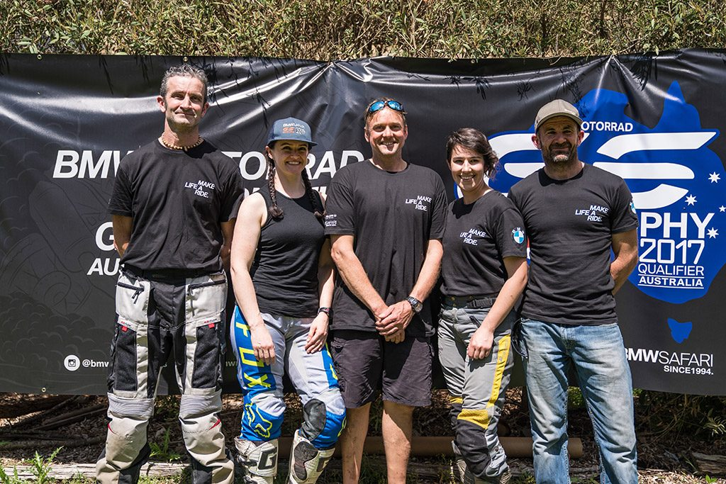 BMW Motorrad GS Trophy Australia team