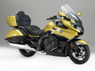 2018 BMW K 1600 Grand America unveiled static studio front three quarter right