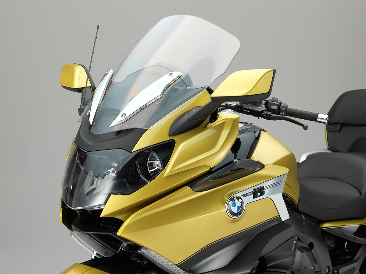 2018 BMW K 1600 Grand America unveiled static studio front screen