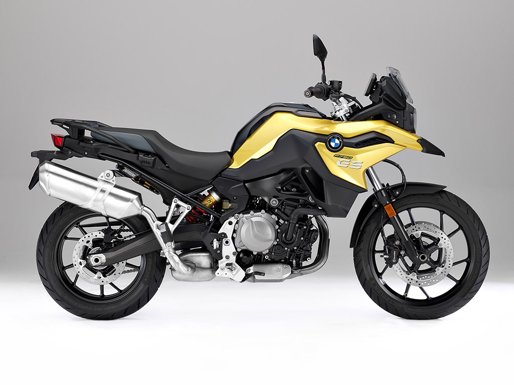 2018 BMW F 750 GS unveiled side on static right