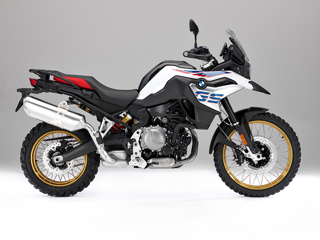 2018 BMW F 850 GS unveiled side on static right