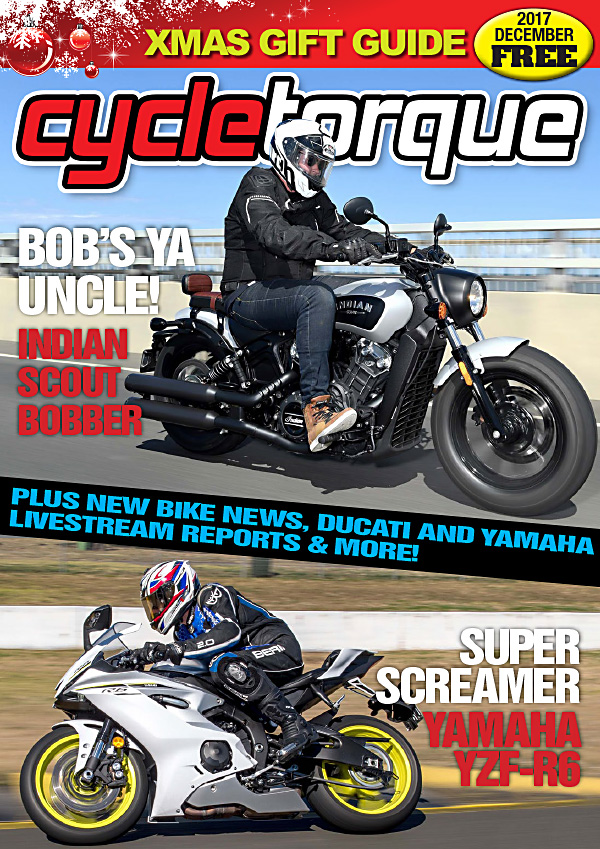 cycle torque magazine digital edition december 2017 indian yamaha kawasaki ducati