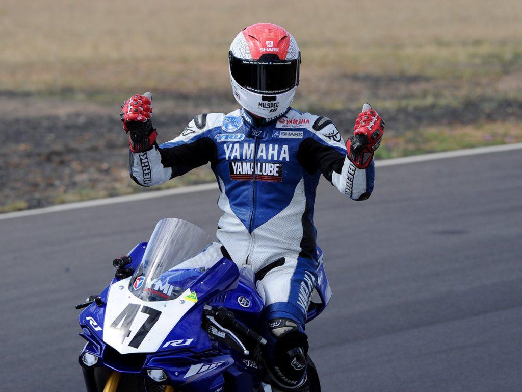 Wayne Maxwell 2017 Australian superbike runner up yamaha race team