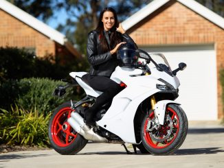 Lauren Vickers will be part of the 'Women in Motorcycling' presentations at the 2017 Sydney Motorcycle Show